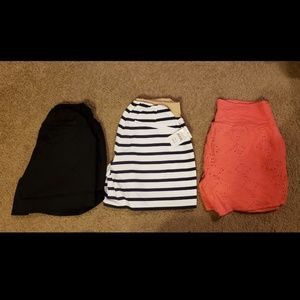 Maternity Shorts Bundle of 3 Size Small